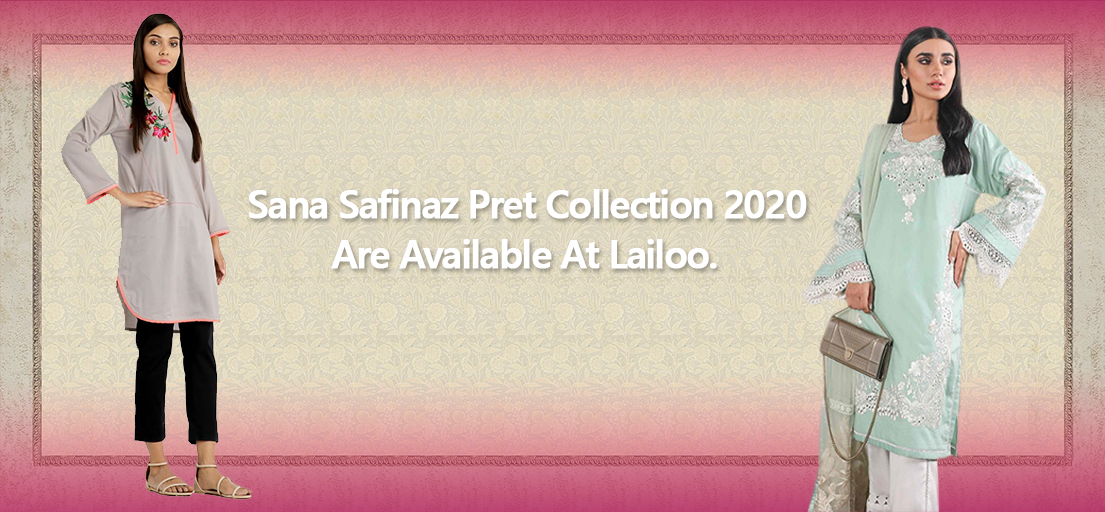 Latest Sana Safinaz Pret Collection 2020 with Price