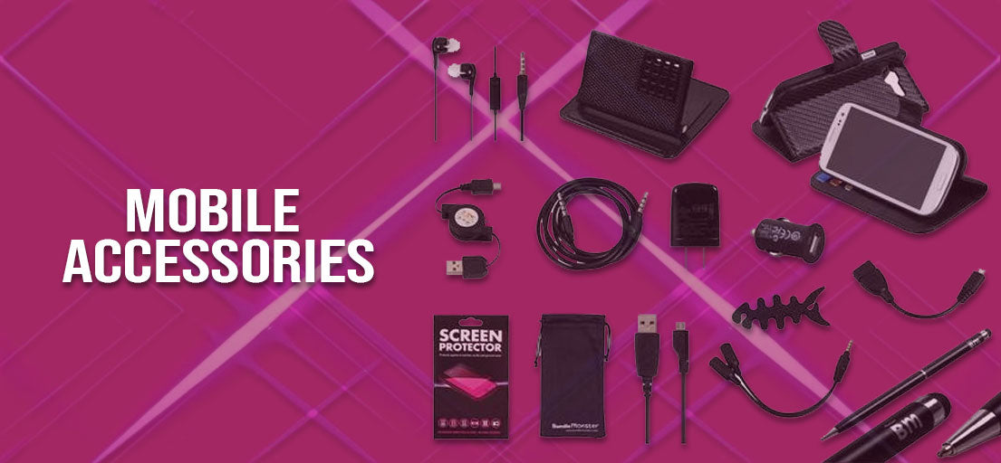Mobile Accessories – Mobile Cover, Mobile Cables Available