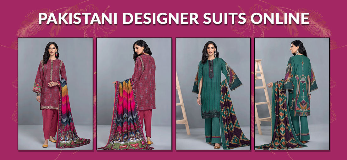 Pakistani Designer Suits Online | Pakistani Fancy Dresses with Prices
