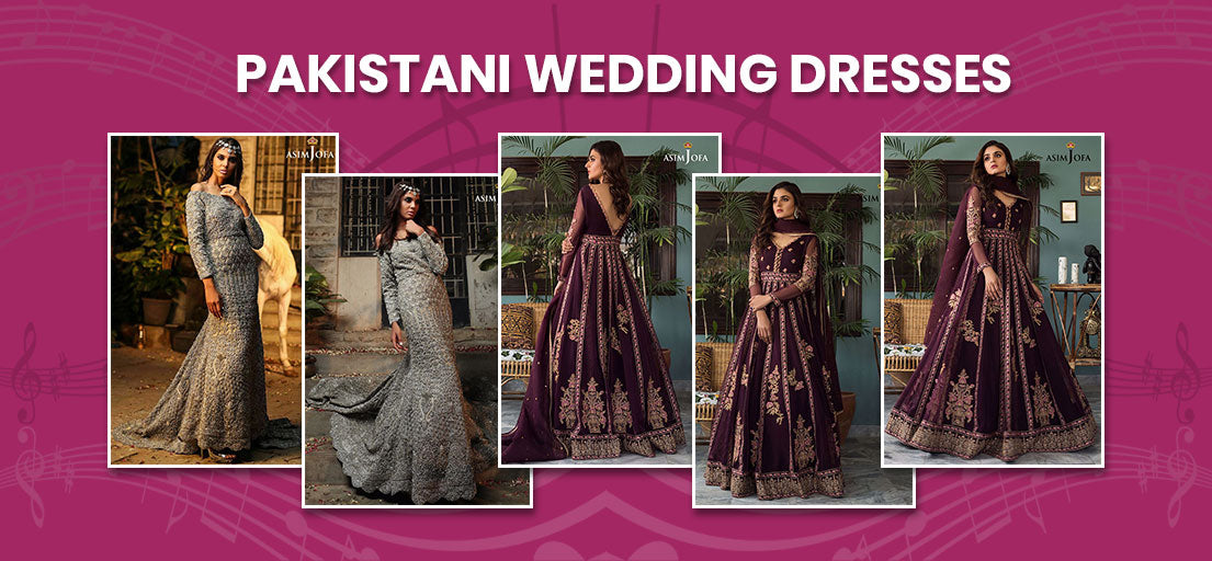 Pakistani Wedding Dresses | Latest Pakistani Bridal Dresses for Walima