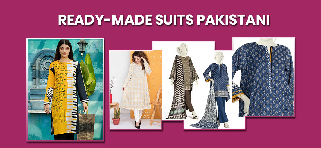Ready made Suits Pakistani | Latest Ready to Wear Summer Outfits Collection