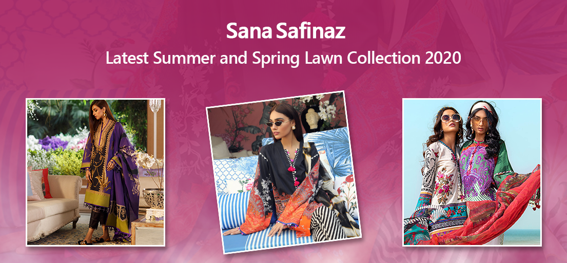 Sana Safinaz Pk Latest Summer and Spring Lawn Collection 2020