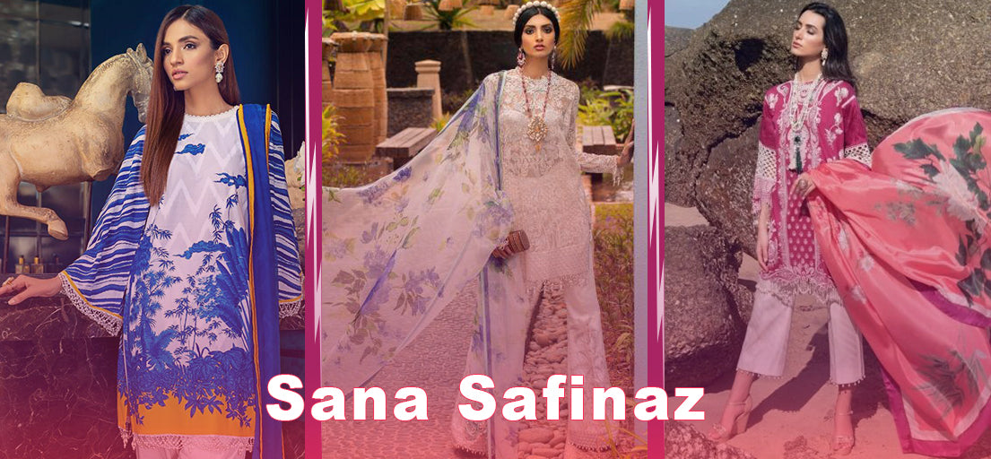 Sana safinaz party wear 2020