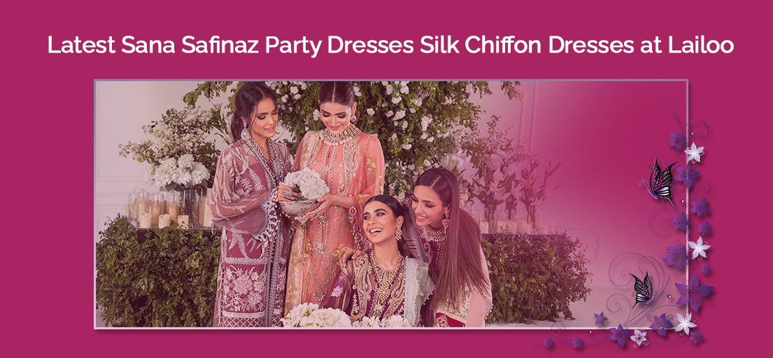 Latest Sana Safinaz Party Dresses | Sana Safinaz Fancy Wedding Outfits