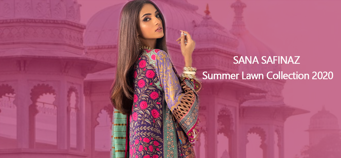 The Latest Sana and Safinaz Summer Lawn Collection 2020