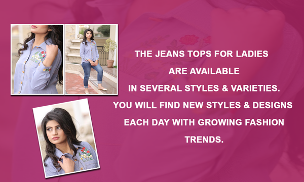jeans-tops-for-ladies-in-Pakistan