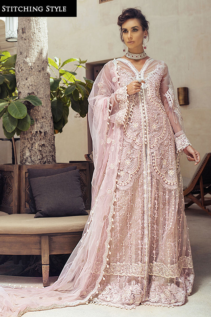 Mushq Mirage TROUSSEAU DE LUXE Wedding Festive Collection'20 VEILED ROSE SKU: MTL20-3