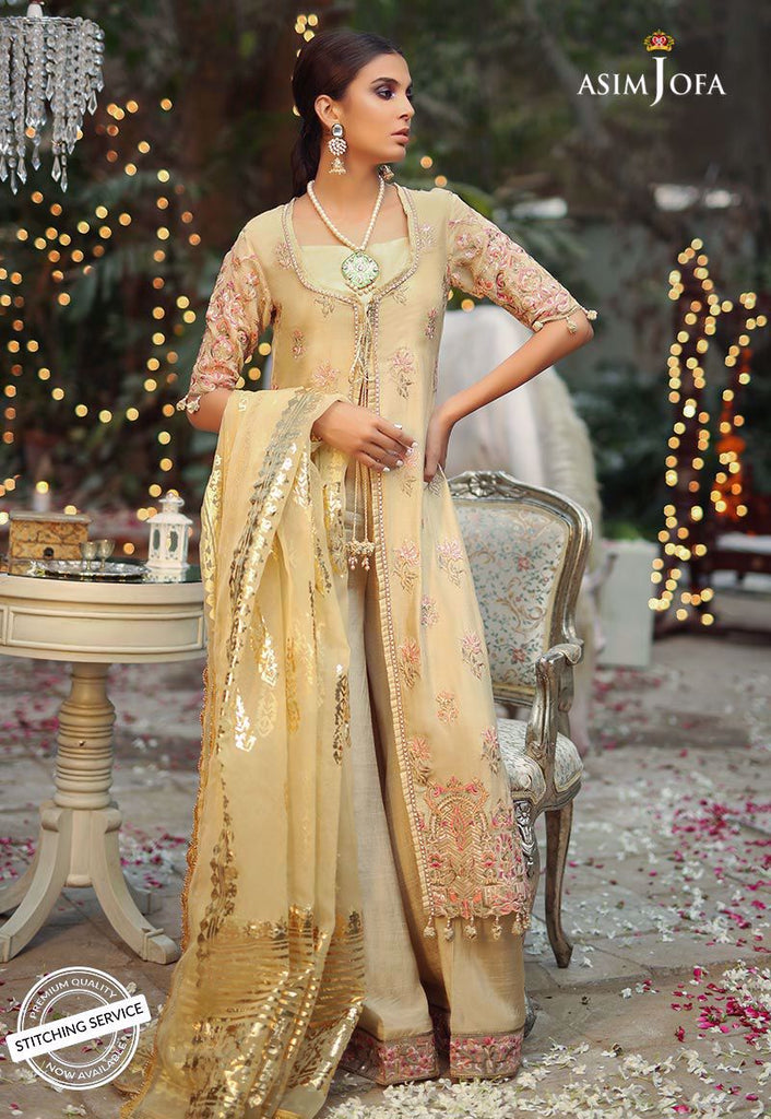Asim Jofa Embroidered Collection'19 AJCN-08