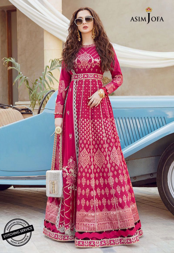 Asim Jofa Luxury Lawn Rabt Collection'21 AJRL-20