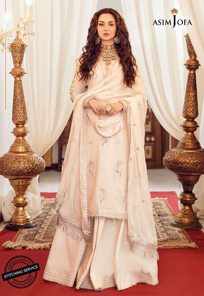 Asim Jofa Luxury Lawn Rabt Collection'21 AJRL-12