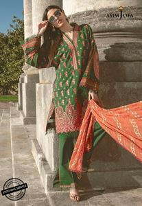 Asim Jofa Luxury Lawn Collection'19 AJLL-07A