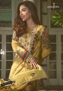 Asim Jofa Luxury Lawn Collection'19 AJLL-05A
