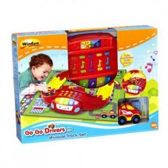 Winfun Go Go Drivers Musical Track Set