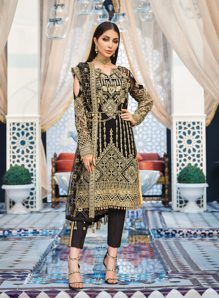 Adila By Gulaal Luxury Formal Collection'20 Product Code: D-8