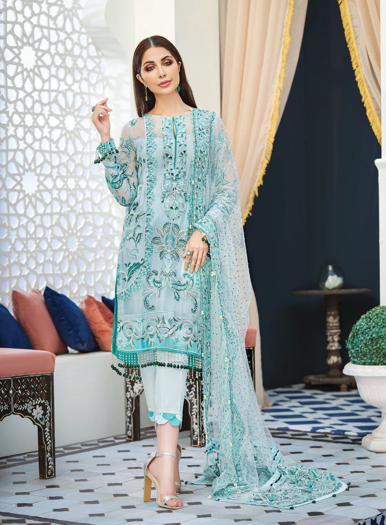 Adila By Gulaal Luxury Formal Collection'20 Product Code: D-2
