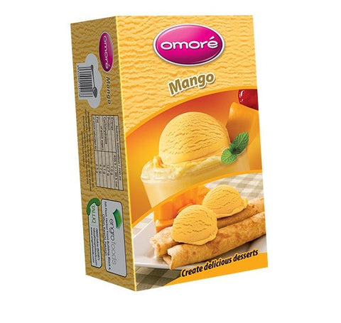 Omore Mango Half Brick Ice Cream 450 ml