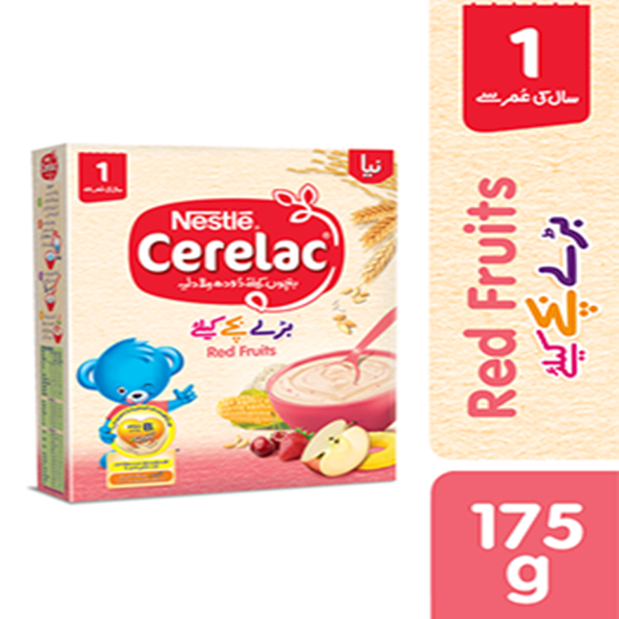 NESTLE CERELAC RED FRUITS 175 GMS