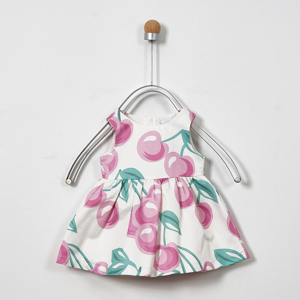 Baby Girl Frock | Cherry | Panco