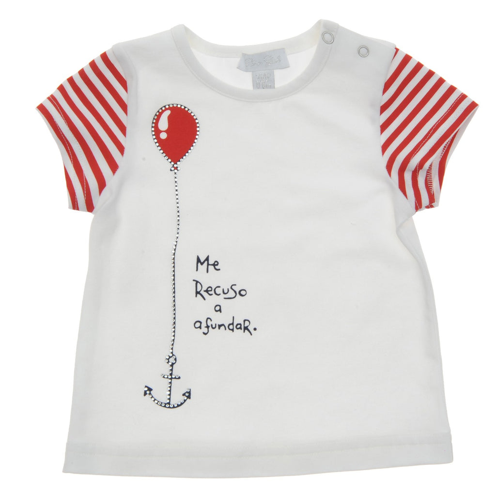 Baby Girl T-Shirt  | Bambini in Mare| Panco