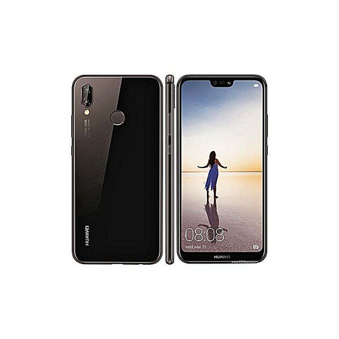 Huawei P20 Lite 4Gb-64Gb - 5.84 Inches - Midnight Black