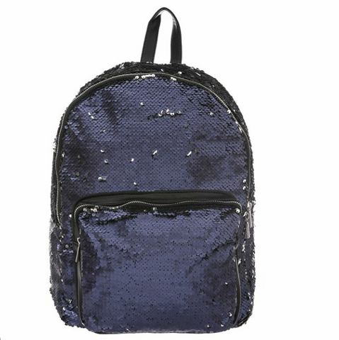 Sparkling Glittery Backpack  | Funky Fish