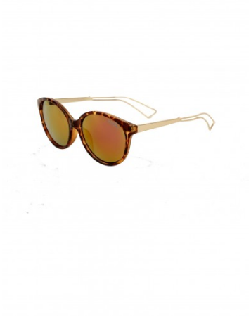 The best accessory Sunglasses Print Leopard Coffee