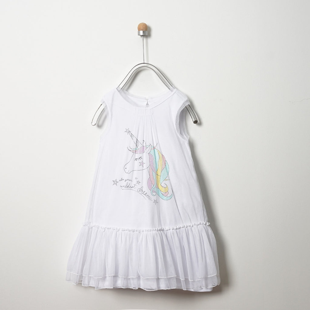 Girls' Dress | Unicorn | Panco
