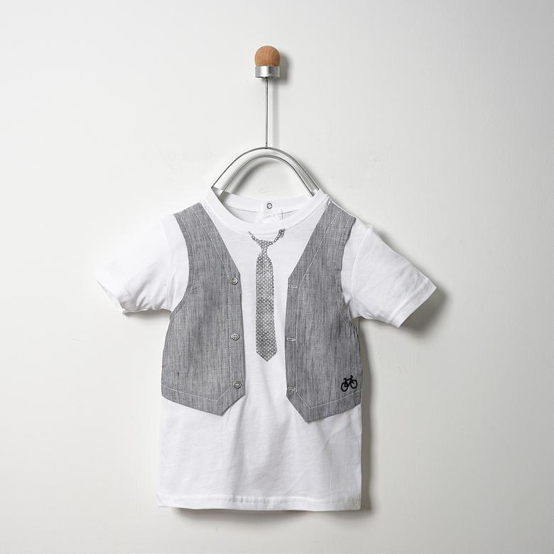 Baby Boy T-Shirt | Soft Blue | Panco