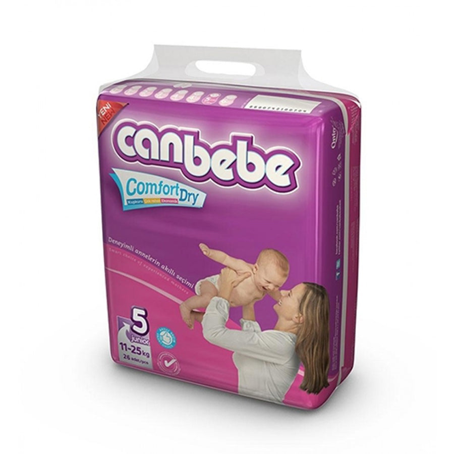 CANBEBE COMFORT DRY ECONOMY PACK DIAPER SIZE 5