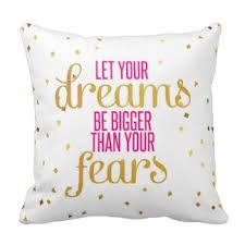 Let your dreams Pillow
