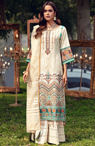Rahi By Motifz Premuim Lawn Collection'21 2799-DITSY