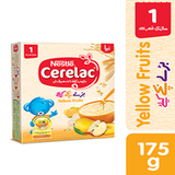 NESTLE CERELAC YELLOW FRUITS 175 GMS