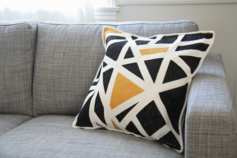 Abstract print Pillow