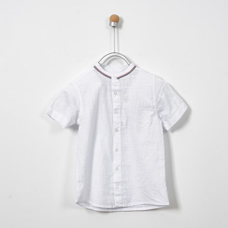 Boys' Short Sleeve Tops | Touch Navy | Panco