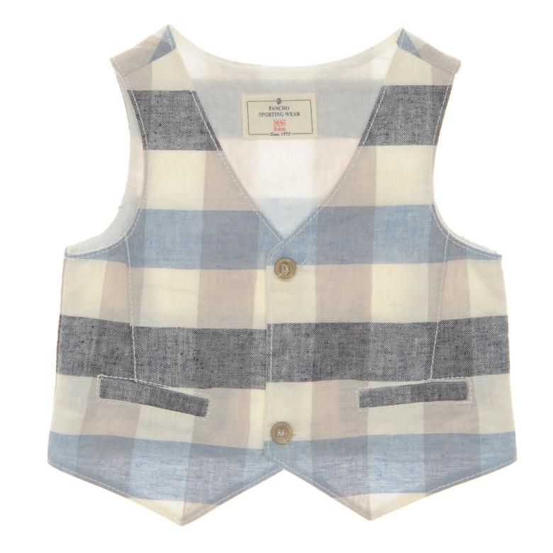 Boys' Vests | Soft Blue | Panco