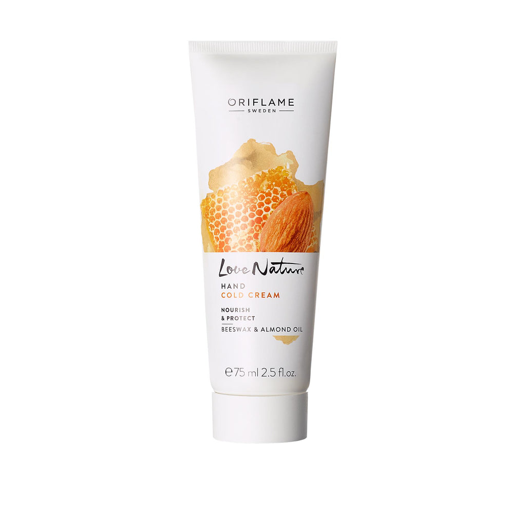Hand Cold Cream Nourish & Protect Beeswax & Almond Oil | ORIFLAME SWEDEN