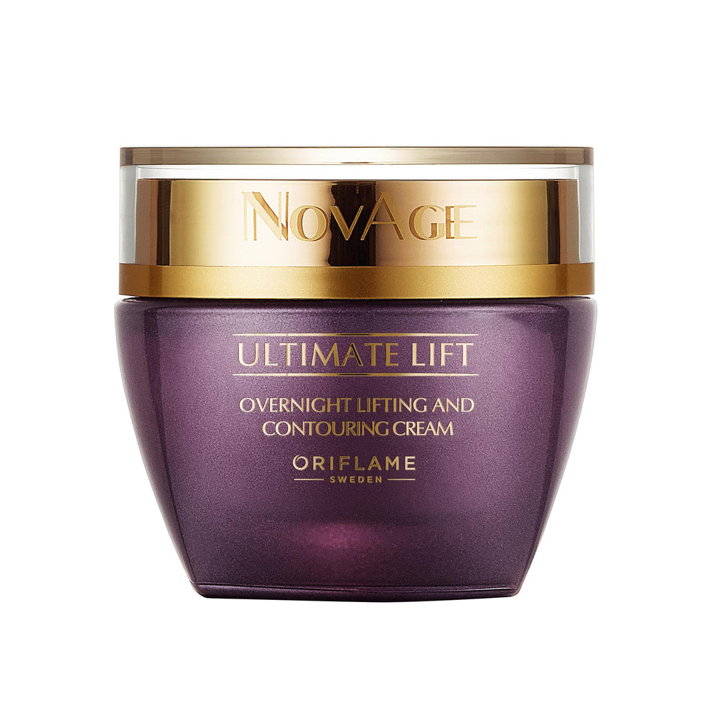 NovAge Ultimate Lift Overnight Lifting & Contouring Cream | ORIFLAME SWEDEN