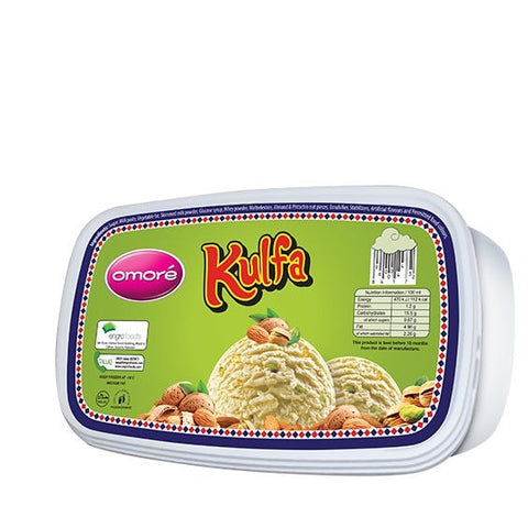 Omore Kulfa Tub Ice Cream 1.4 Ltr