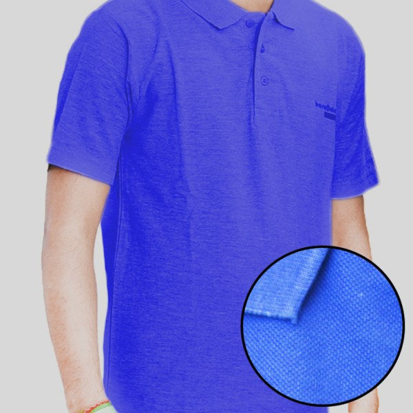 Pack Of 3 ƒ?? Cotton Polo Shirt For Men (Red/NeavyBlue/Blue)