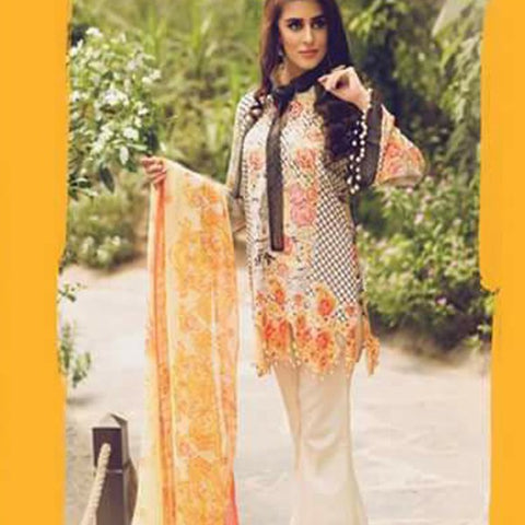 3 Piece Knee Length Embroidered shirt with bell sleeves