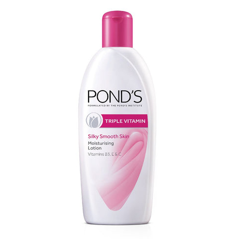 POND'S TRIPLE VITAMIN SILKY SMOOTH SKIN MOISTURISING LOTION 200 ML