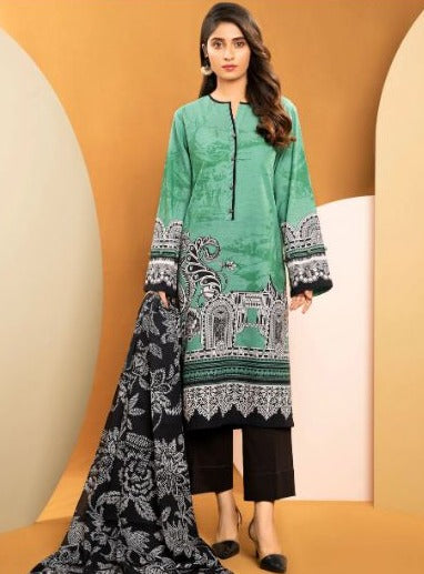 LIMELIGHT 2-PC SLUB KHADDAR SUIT   Rs. 1,899  U1318SU-2PC-SGN