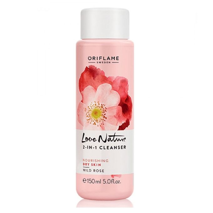 Oriflame Sweeden Love Nature 2 in 1 Cleanser - 150ml