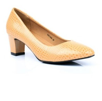 STYLO MUSTARD COLOR WINTER COURT SHOES WN7088