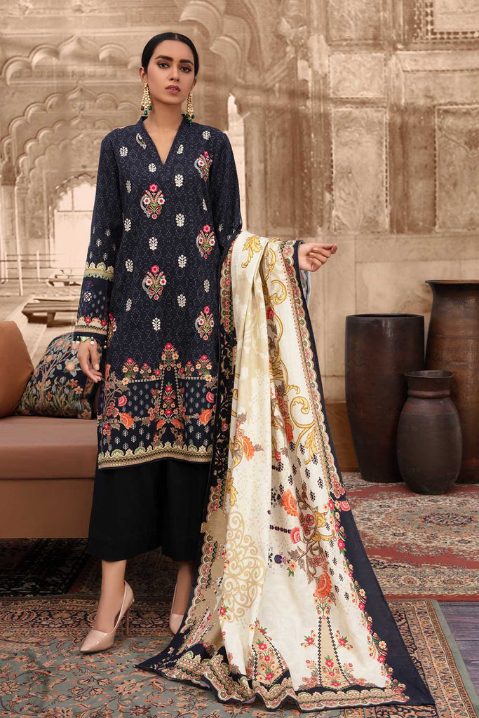 So Kamal Khaddar Winter Collection'20  DPW 682 Suit