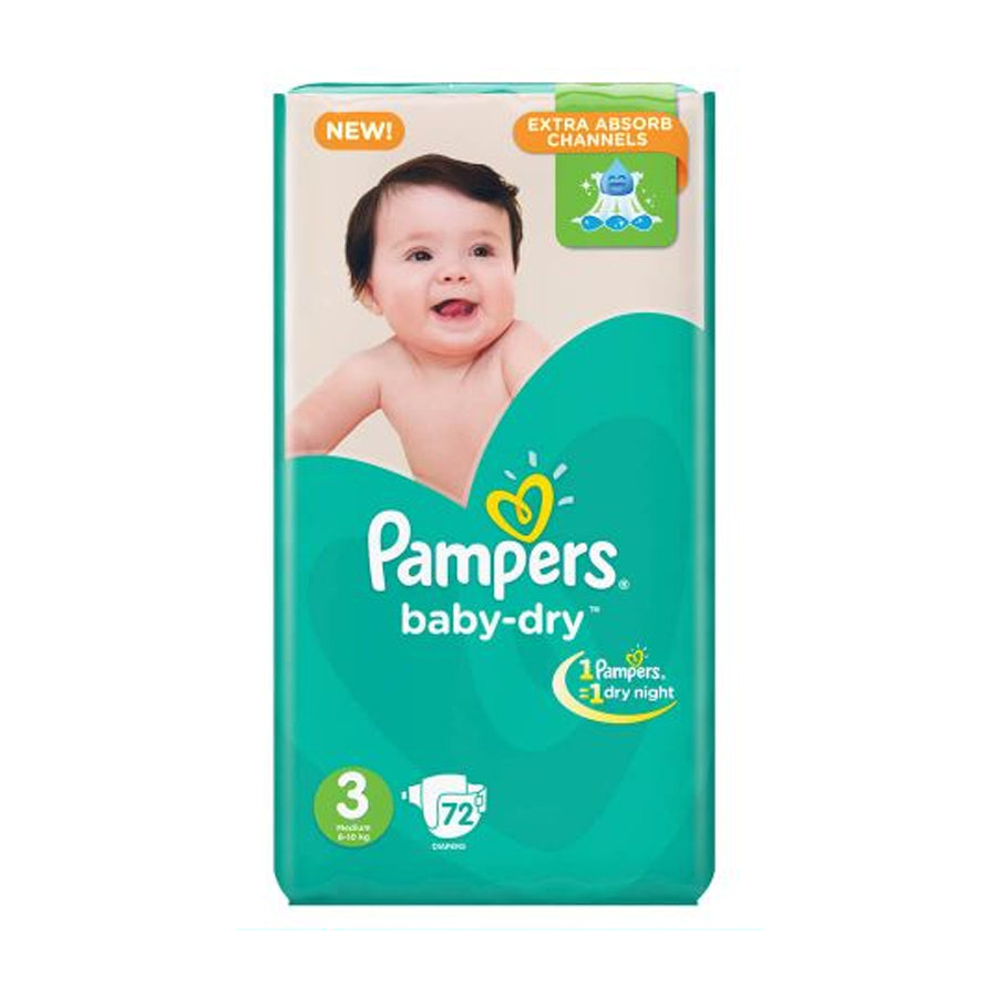 PAMPERS MEGA PACK SIZE 3