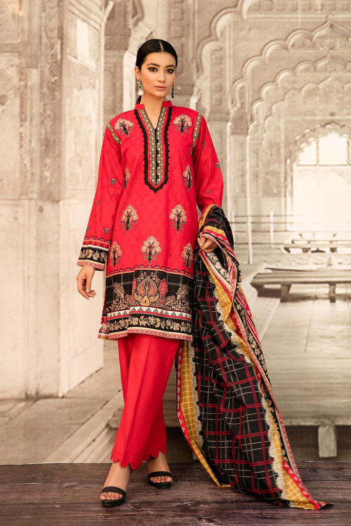 So Kamal Khaddar Winter Collection'20 DPW20 769 Suit