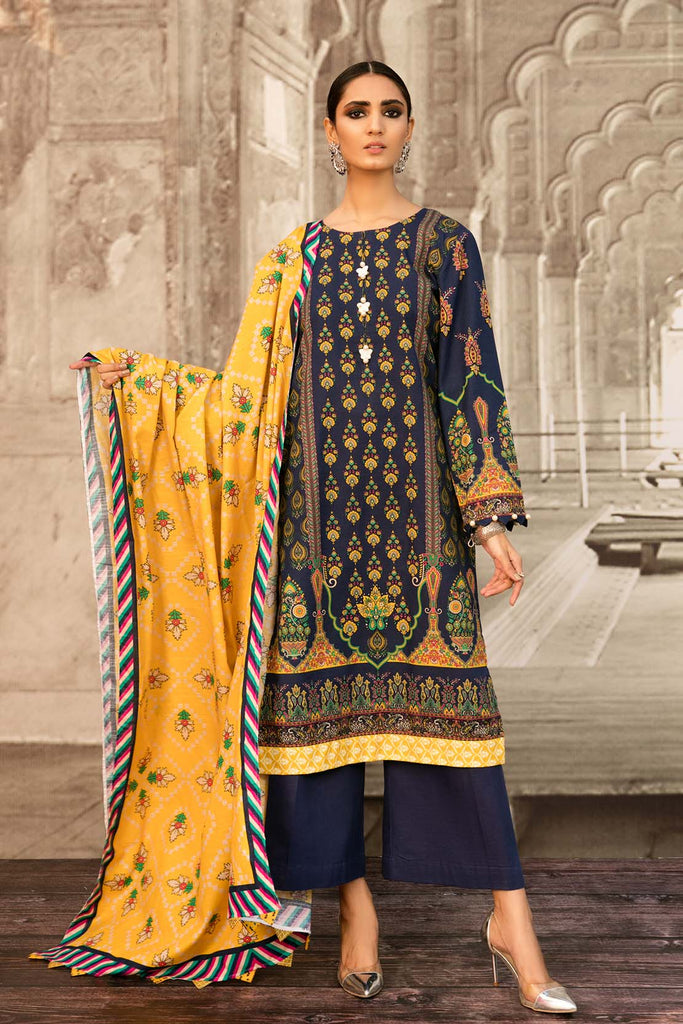 So Kamal Khaddar Winter Collection'20 DPW20 773 Suit