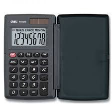 Deli Calculator 12 Digit Sleek Size