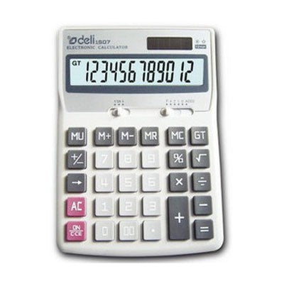 Deli Calculator 12 Digit Multi Function